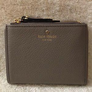 Kate Spade small gray wallet